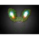 LED rabbit ears green motive: rabbit