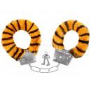 Carnival Handcuffs plush yellow black