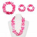 Hawaii-Set Hawaiikette Halskette Armband Stirnband