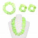 Hawaii Set Headband, 2x bracelets, Hawaiian Flower