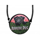 wholesale Handbags: Round Design Handbag Design: Jurassic Pug