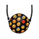 Rond motief handtas ontwerp: Emoji Con Mix