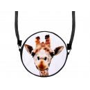 mayorista Maletas y articulos de viaje: Escena redonda diseño del bolso: jirafa