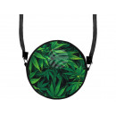 Round motif handbag design: Hemp