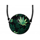 Round motif handbag hemp