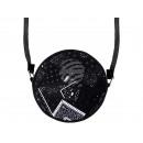 Großhandel Taschen & Reiseartikel: Runde  Motiv-Handtasche  Design: Paisley ...