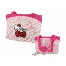 Hello Kitty bag big with bike fitting