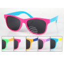 wholesale Sunglasses: sunglasses for kids Vintage Retro dual color