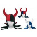 Carnaval hoed carnaval gekke hoed gemaakt van fluw