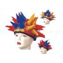 Carnaval hoed carnaval gekke hoed van de pluche