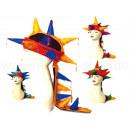 Karnevalshut Sortierung verrückter Hüte aus Plüsch