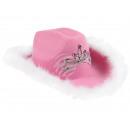 Carnaval hoed carnaval gekke hoed in roze
