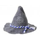 Seppelhut Filz mit blau-weißer Kordel