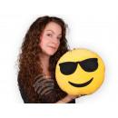 Kissen Emoticon Emoji-Con cool