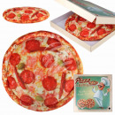 wholesale Business Equipment: Pizza Pillows Salami in pizza box Ø ca. 37cm