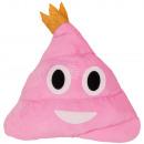 Kissen Emoticon  Emoji Haufen Prinzessin in pink