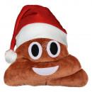 Weihnachtsmütze Emoticon Emotikon Kissen Haufen