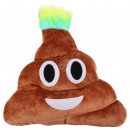 wholesale Cushions & Blankets: Punk Emoticon Pillows heap laughing brown