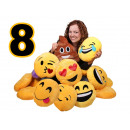 groothandel Kussens & Dekbedden: Het sorteren van 8  Emoticon Emoji Con Pillow