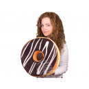 wholesale Cushions & Blankets: Donut Pillows * chocolate icing * Ø 40 cm