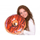 Donut Pillows * Bright chocolate icing * Ø 40 cm
