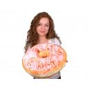 Donut Pillows * Pink glaze * Ø 40 cm