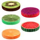 Design Motiv  Kissen Mix Früchte Obst