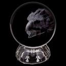 Kristall Kugel Glas Kristallkugel Adler
