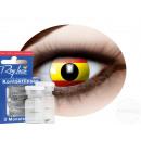 Weiche getönte Kontaktlinse Spanien gelb rot