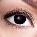 Weiche getönte Kontaktlinse Black Witch schwarz