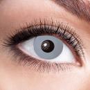 Weiche getönte Kontaktlinse Vampire grey Grau