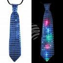 LED tie blue LED lighting about 33 cm