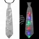 LED tie silver LED lighting about 33 cm