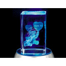 wholesale Home & Living: Crystal Cube Teddy I love you