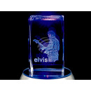 Crystal Square Theme: Elvis color: clear