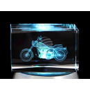 Crystal Square Theme: motorcycle Color: Clear