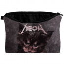 Kosmetik Tasche mit Motiv Kätzchen Meow