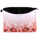 Kosmetik Tasche mit Motiv Verblassende Rosen