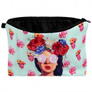 wholesale Travel Accessories: Cosmetic bag with motif Retro model