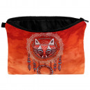 Cosmetic bag with design Dreamcatcher Fuchs