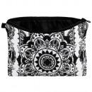 nagyker Táskák és utazási kellékek: Kozmetikai táska Mandala fekete