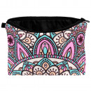 wholesale Bags & Travel accessories: Cosmetic bag Mandala turquoise pink