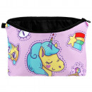 Cosmetic bag Unicorn & Symbols multicolor
