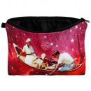 Cosmetic bag Galaxy canoe multi-colored