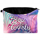 wholesale Bags & Travel accessories: Cosmetic Bag Psychedelic you look lovely