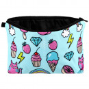 wholesale Bags & Travel accessories: Cosmetic bag icons multicolor