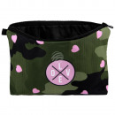 wholesale Bags & Travel accessories: Cosmetic Bag Camouflage Hearts Love pink