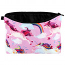 Make-up tas Unicorns regenboog multicolor