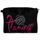 Kosmetiktasche mit Motiv Flamingo