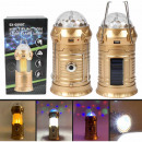 Lamp flashlight Powerbank Camping lamp gold